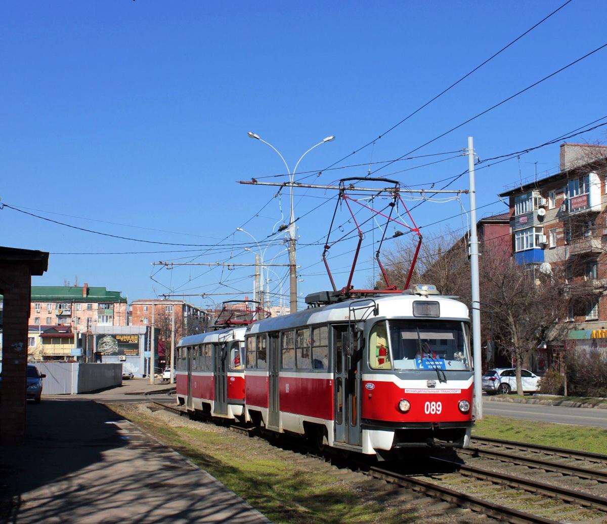 Краснодар. Tatra T3SU №089, Tatra T3SU №122