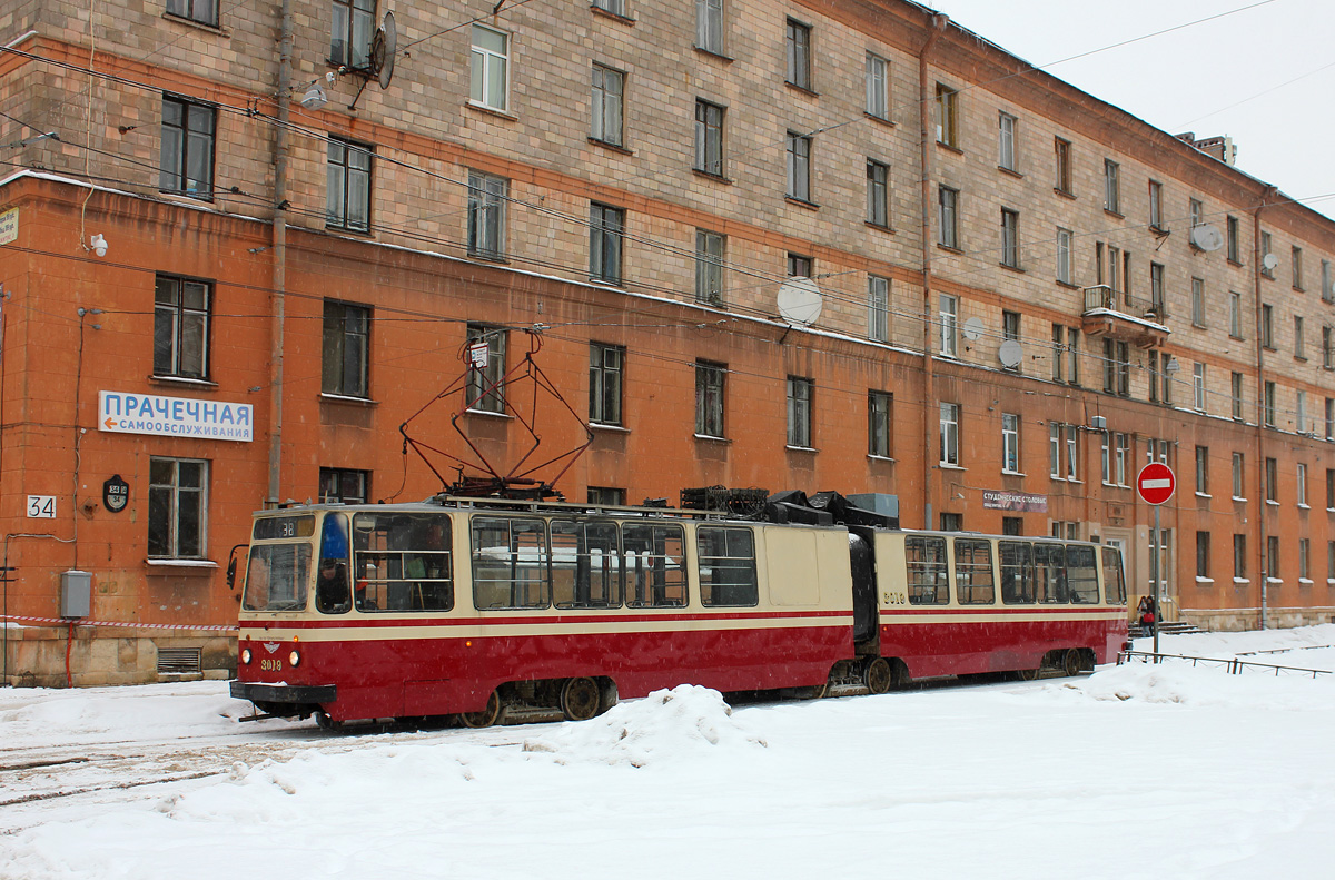 Санкт-Петербург. ЛВС-86К №3019