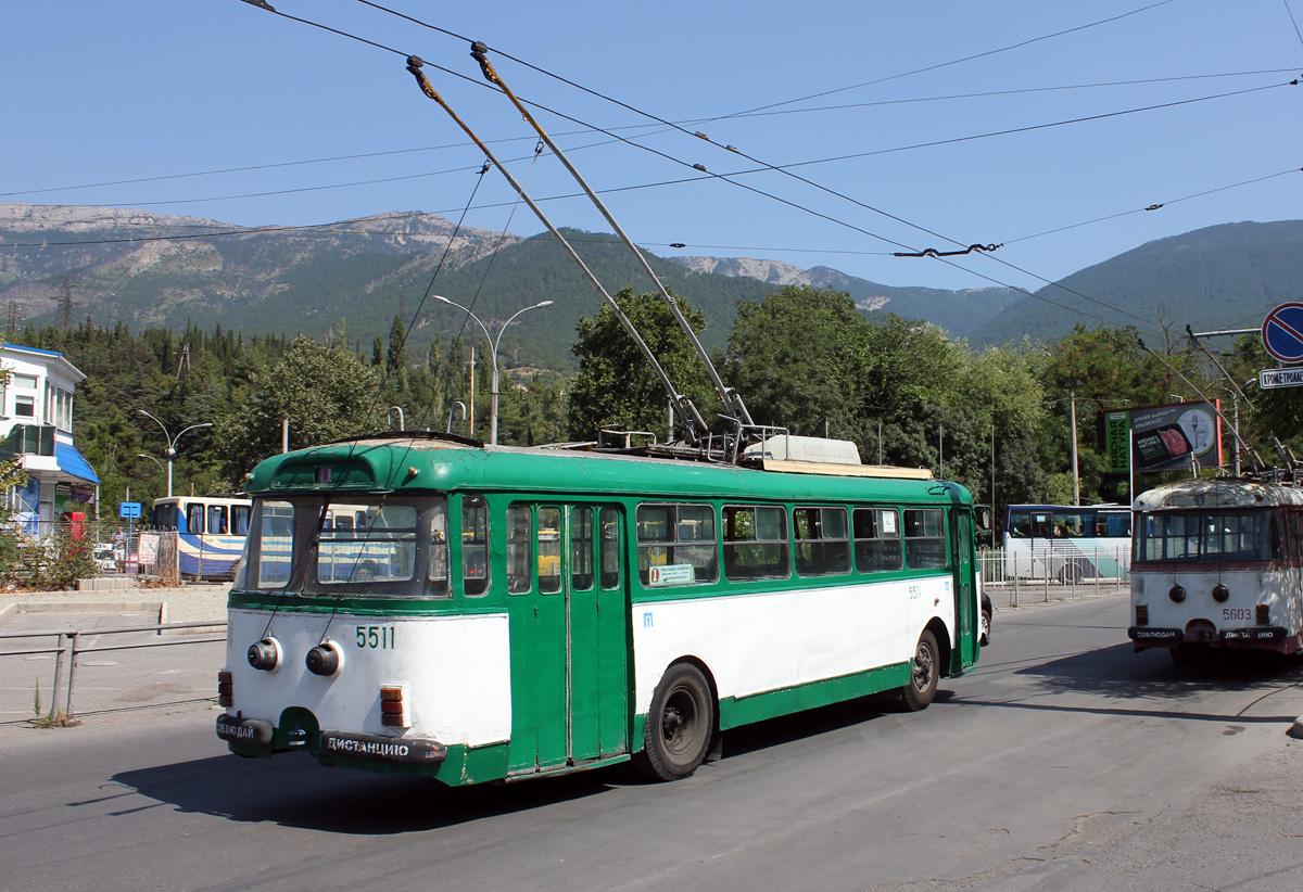 Крым. Škoda 9Tr19 №5511