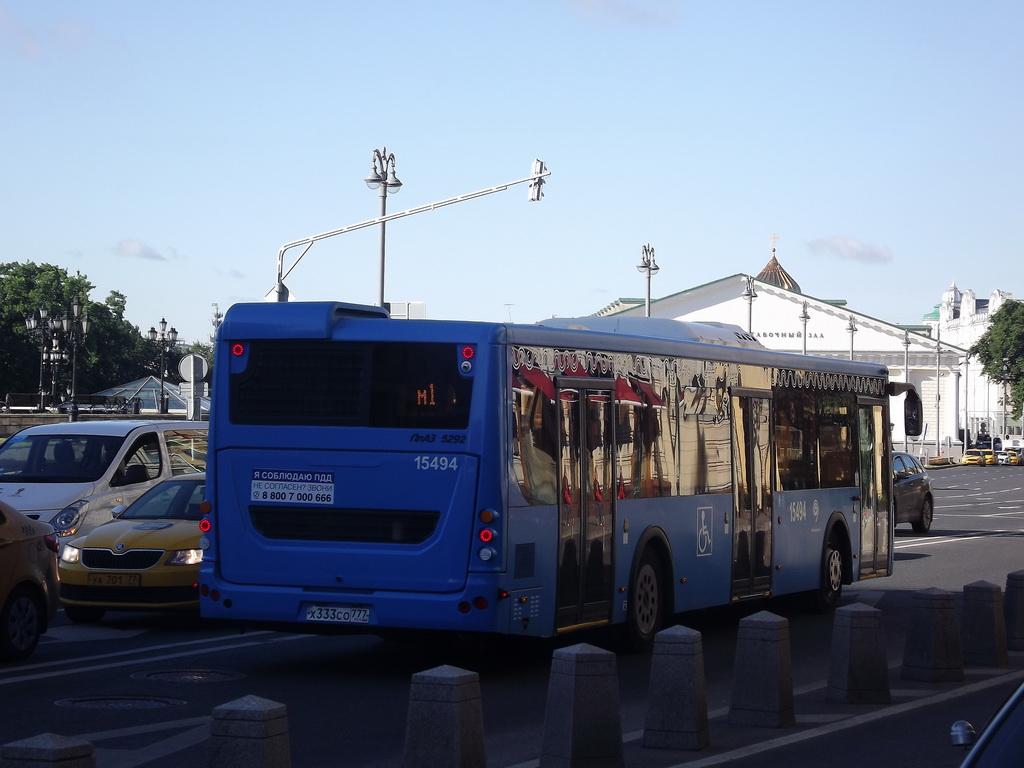 Москва. ЛиАЗ-5292.65 х333со