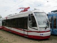 Минск. Трамваи БКМ-802Е, сцепленные в СМЕ для испытаний