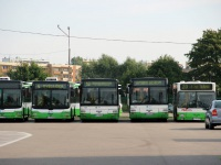 Белосток. MAN A21 Lion's City NL273 BI 97447, MAN A78 Lion's City T EL283 BI 79393, MAN A78 Lion's City T EL283 BI 79392, MAN NL222 BI 11925