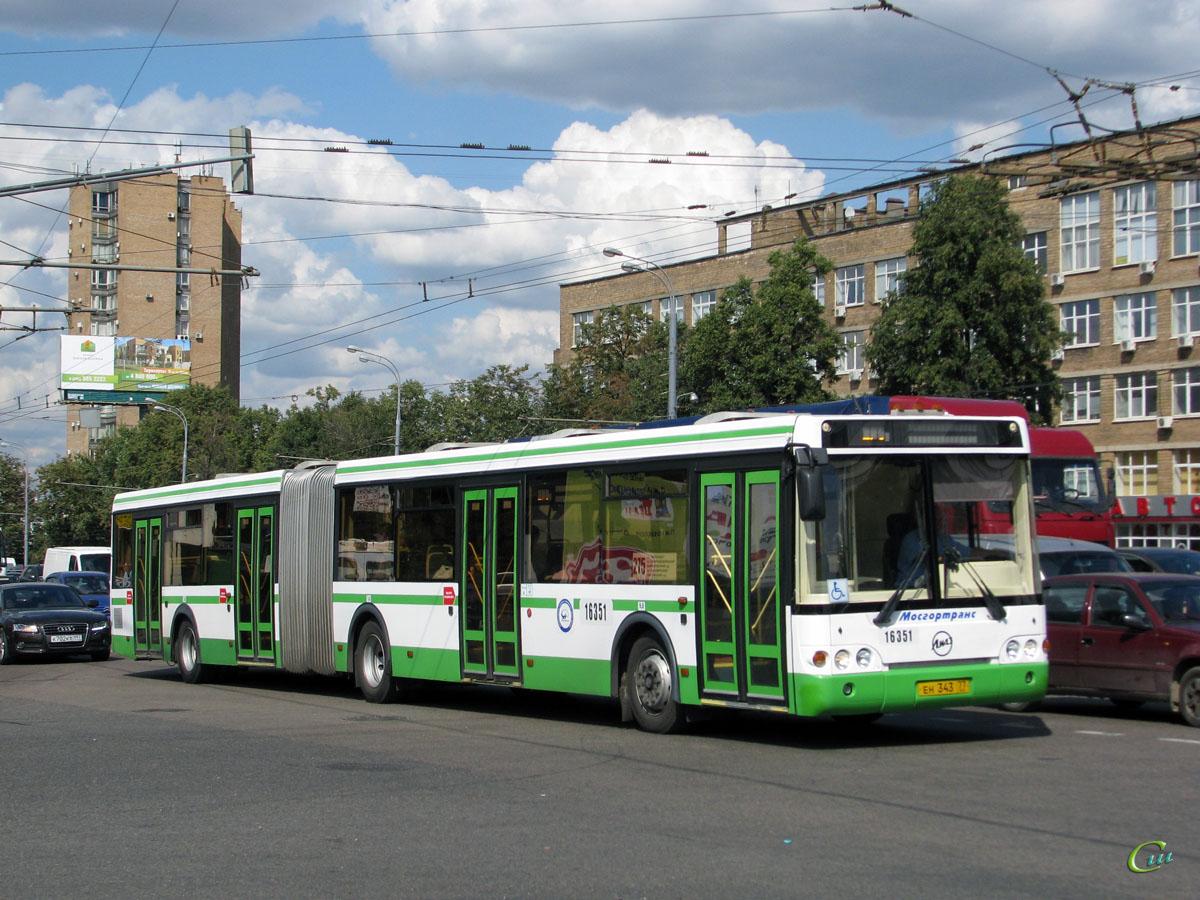 Москва. ЛиАЗ-6213.20 ен343