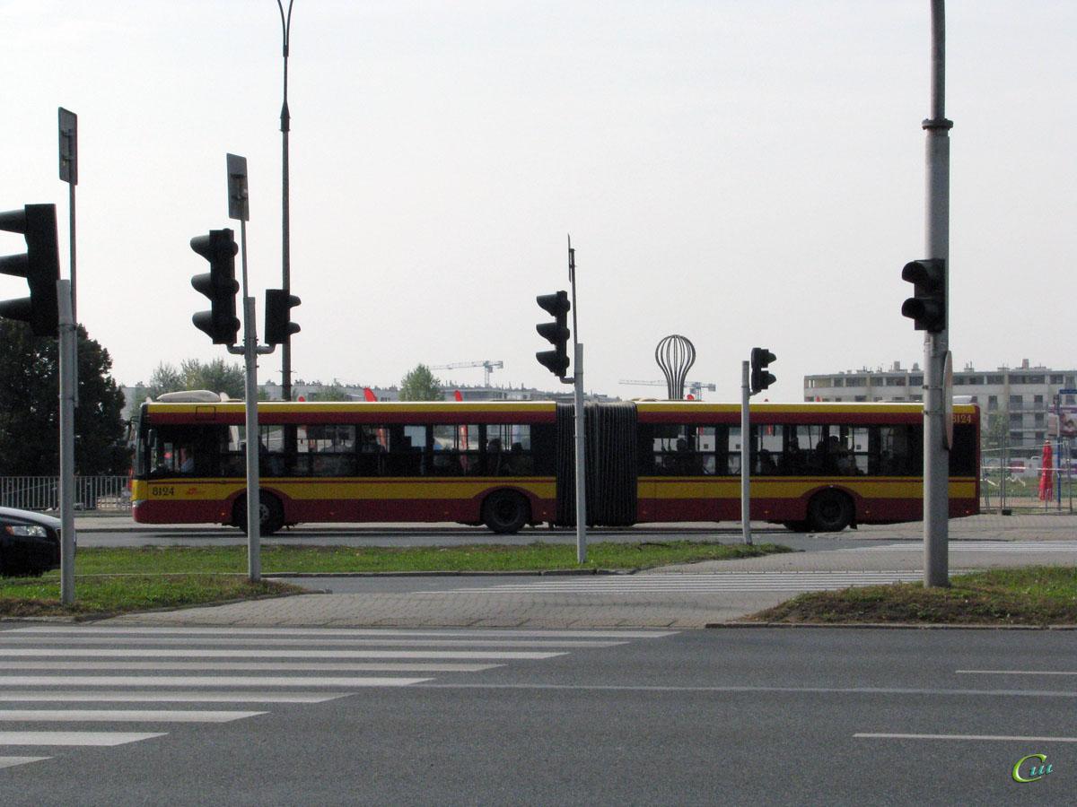 Варшава. Solaris Urbino 18 WI 1232G