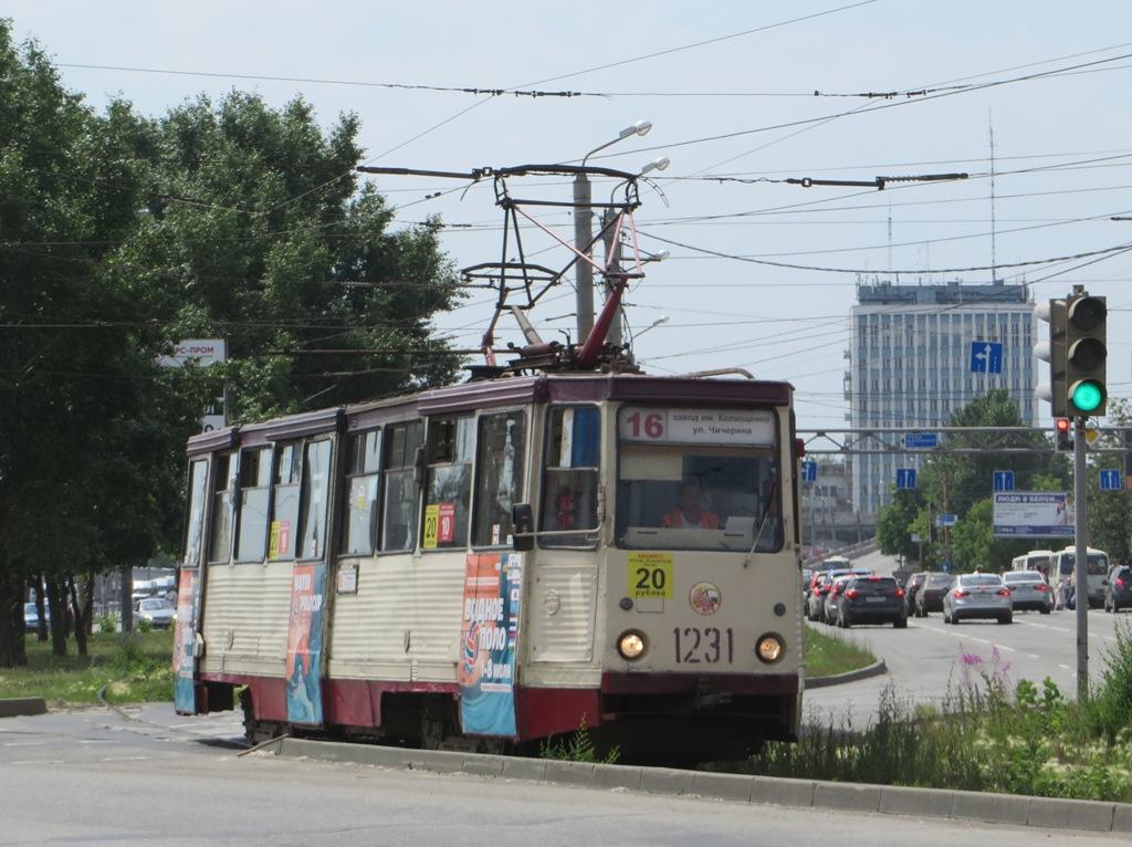 Челябинск. 71-605 (КТМ-5) №1231