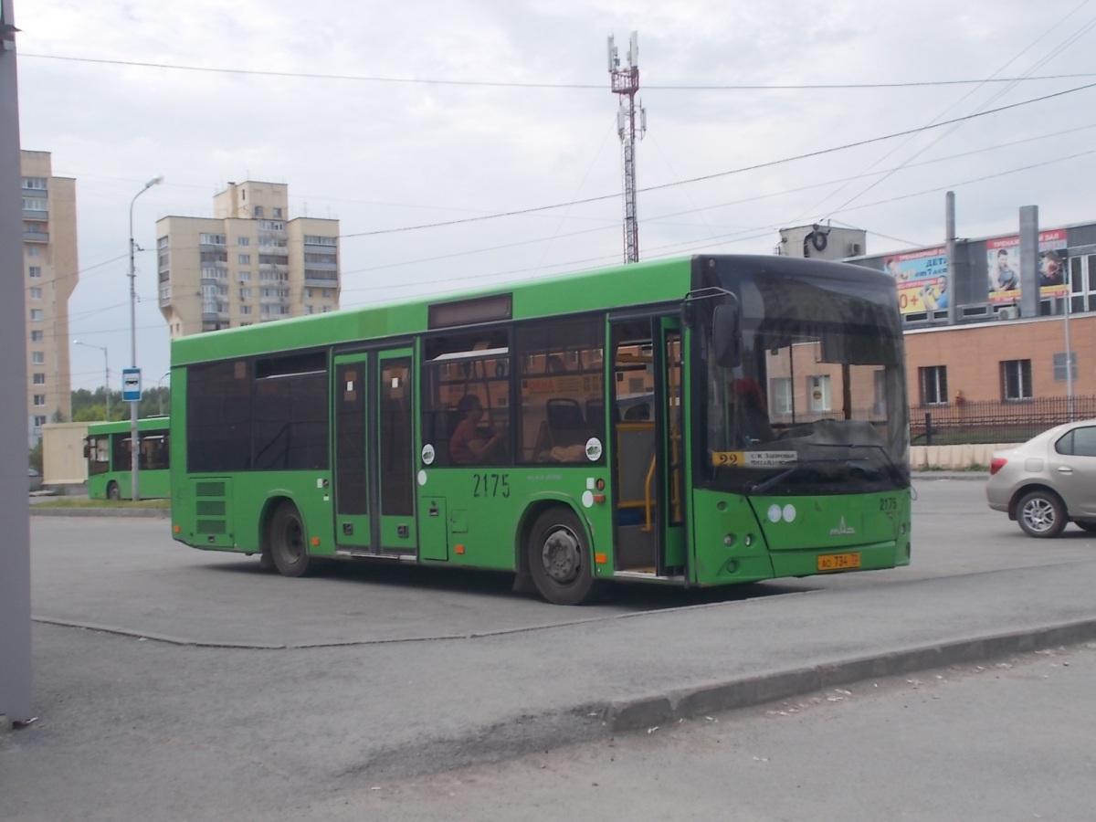 Тюмень. МАЗ-206.068 ао734