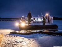 Петрозаводск. Судно на воздушной подушке ХИВУС-10 № 548 (РШП 09-25)