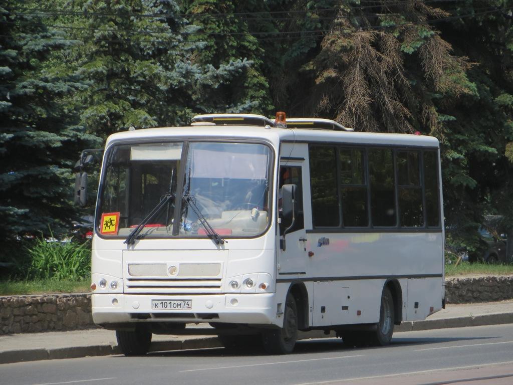 Челябинск. ПАЗ-320402-03 к101ом
