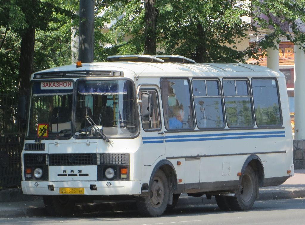 Челябинск. ПАЗ-32053 во535