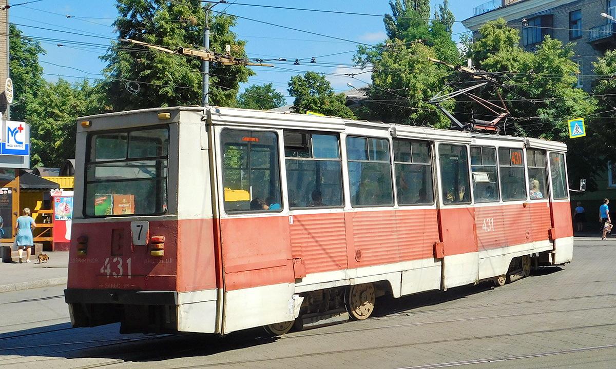 Кривой Рог. 71-605А (КТМ-5А) №431