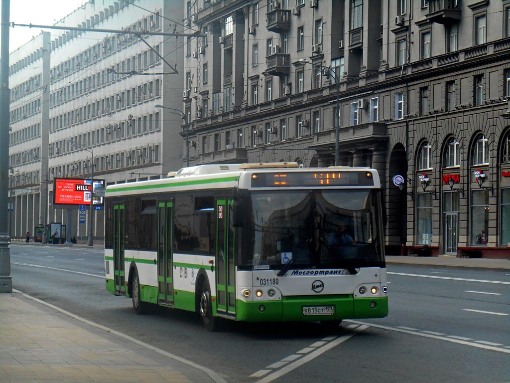 Москва. ЛиАЗ-5292.22 х815ст