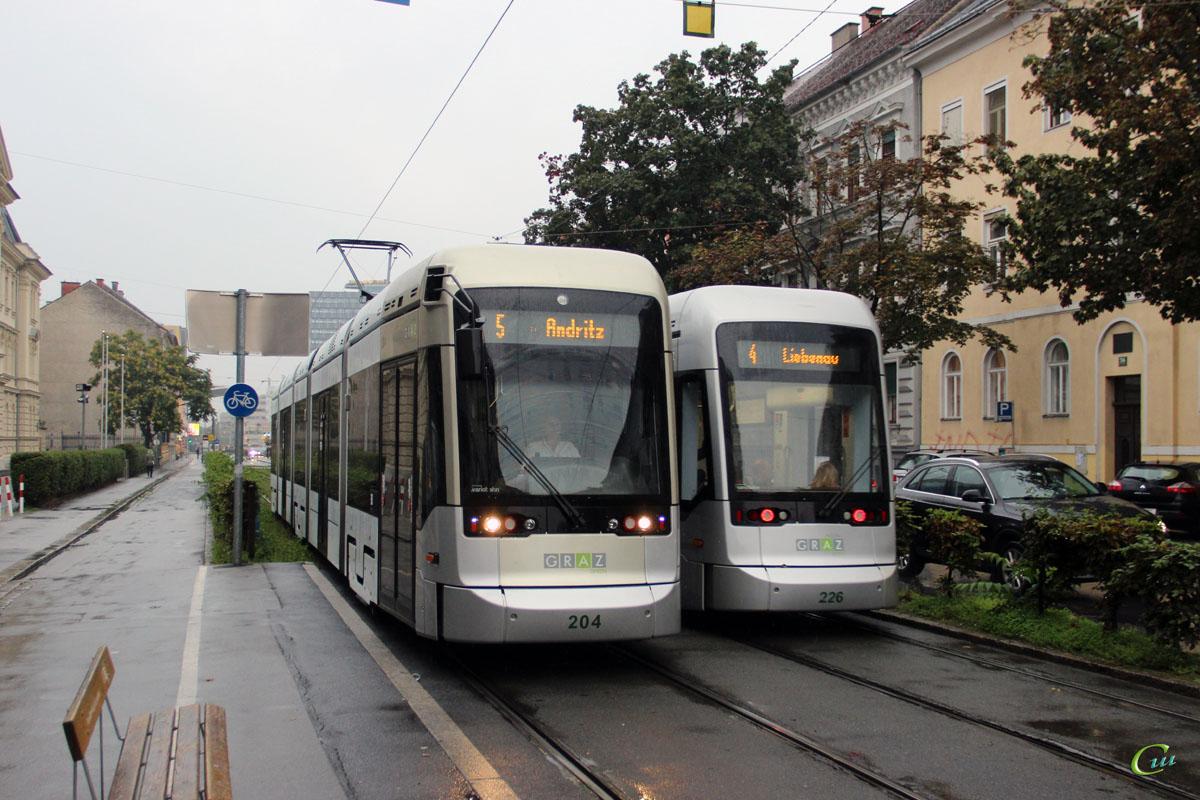 Грац. Stadler Variobahn №204, Stadler Variobahn №226