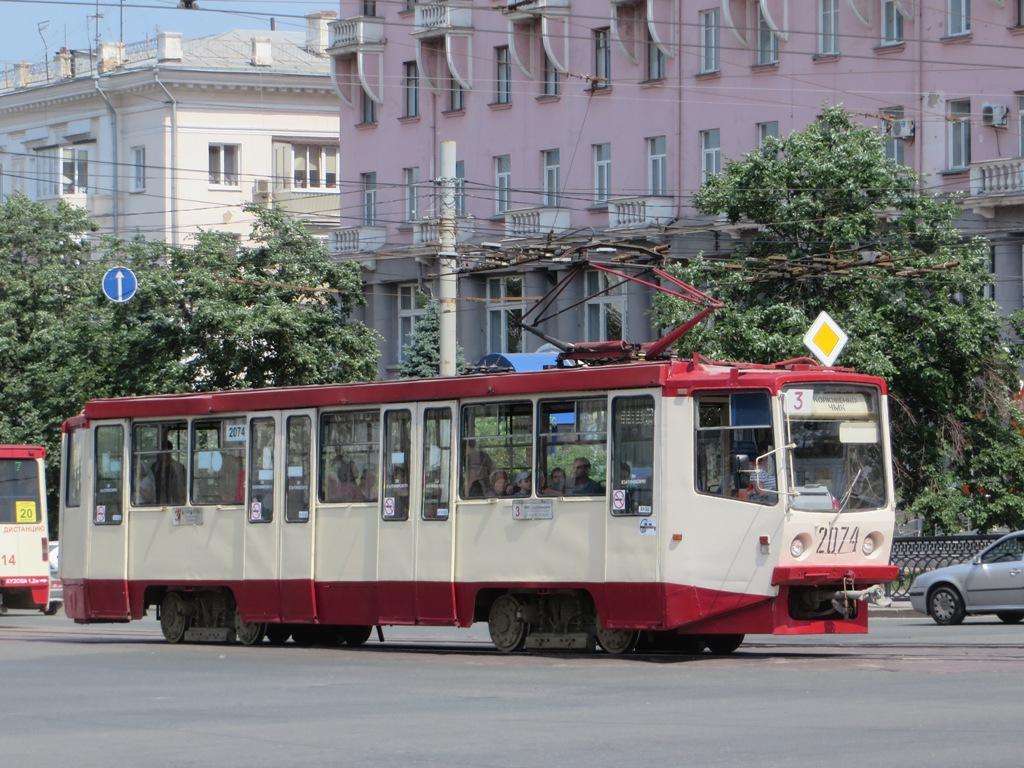 Челябинск. 71-608КМ (КТМ-8М) №2074