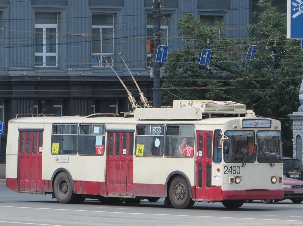 Челябинск. ЗиУ-682В00 №2490