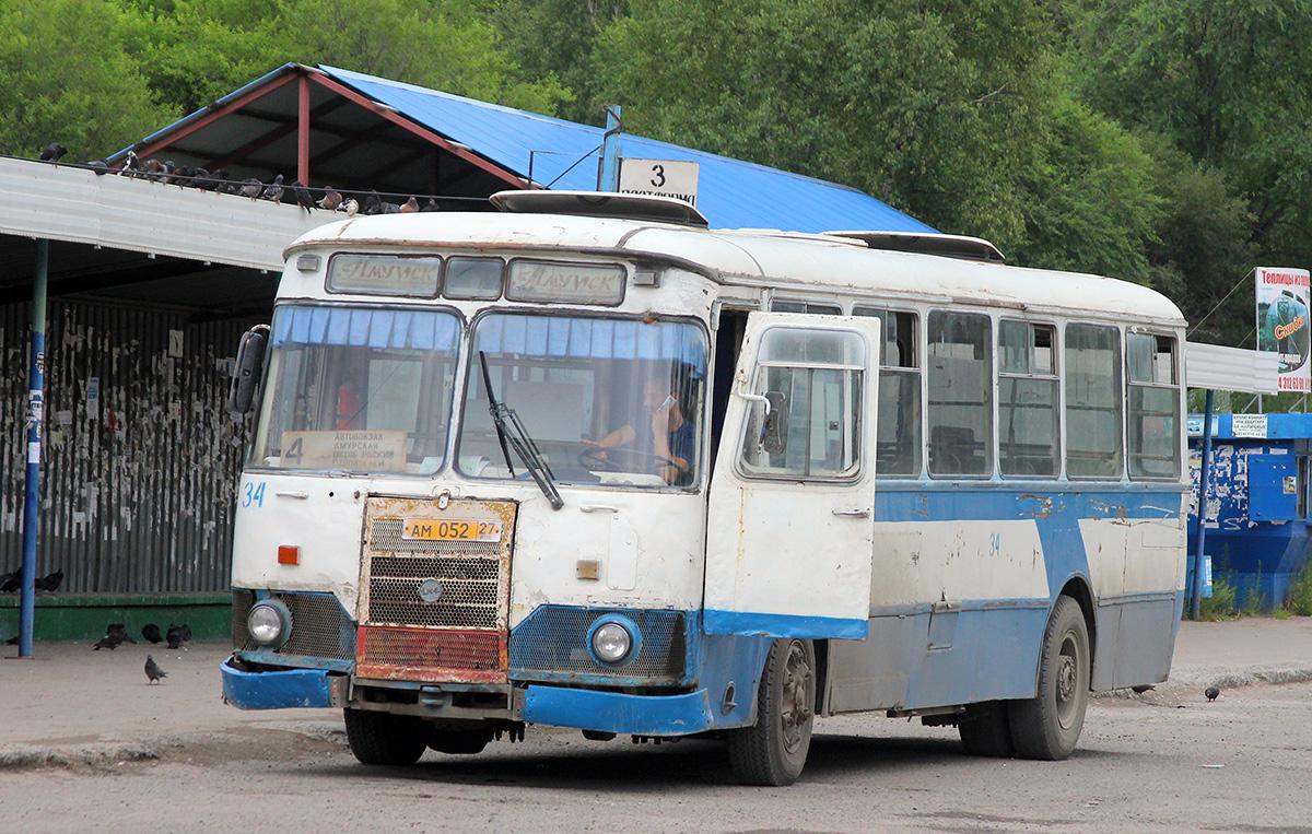 Амурск. ЛиАЗ-677М ам052