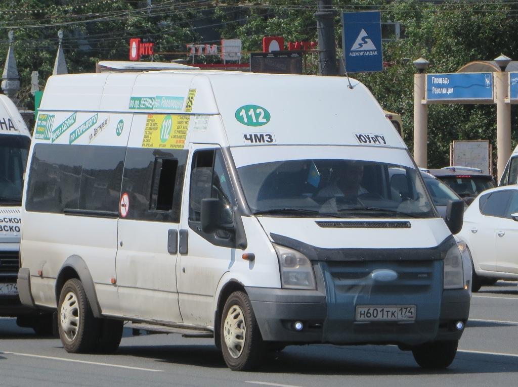 Челябинск. ГолАЗ-3030 (Ford Transit) н601тк