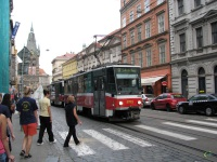 Прага. Tatra T6A5 №8715