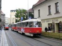 Прага. Tatra T3SUCS №7203