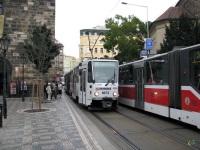 Прага. Tatra T6A5 №8673