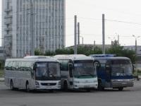 Челябинск. Hyundai Universe Space Luxury н663тв, JAC HK6120 в225рх, Kia Granbird P 367 BP
