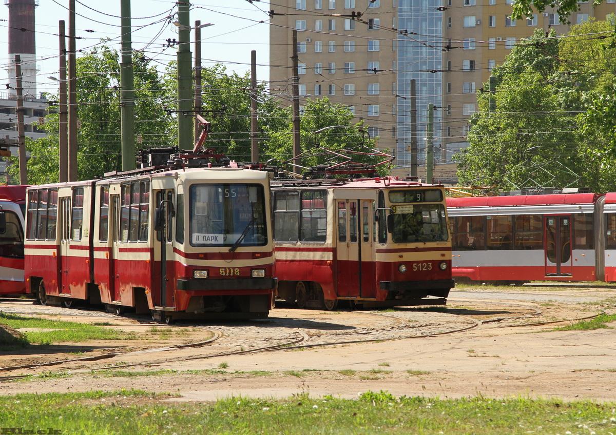 Санкт-Петербург. ЛВС-86К №5118, ЛВС-86К №5123