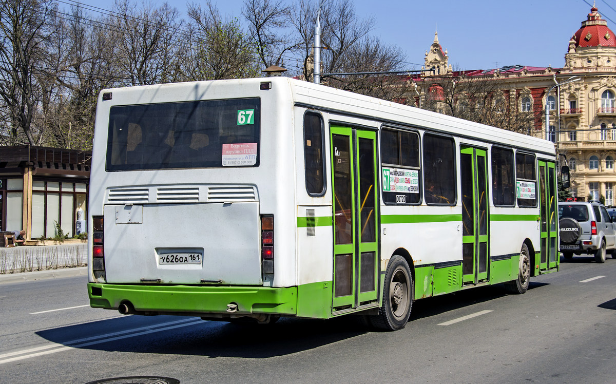 Ростов-на-Дону. ЛиАЗ-5256.45 у626оа