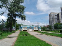 Хабаровск. 71-134А (ЛМ-99АВН) №104, 71-605 (КТМ-5) №380