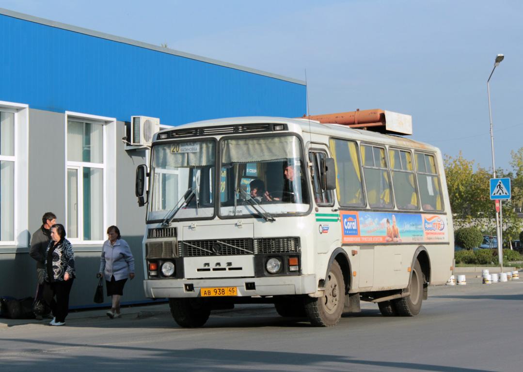 Шадринск. ПАЗ-32053-20 ав938