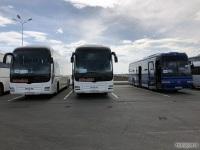 Ростов-на-Дону. MAN R07 Lion's Coach т202сн, MAN R08 Lion's Top Coach х111рм, Hyundai AeroExpress HSX к018ма