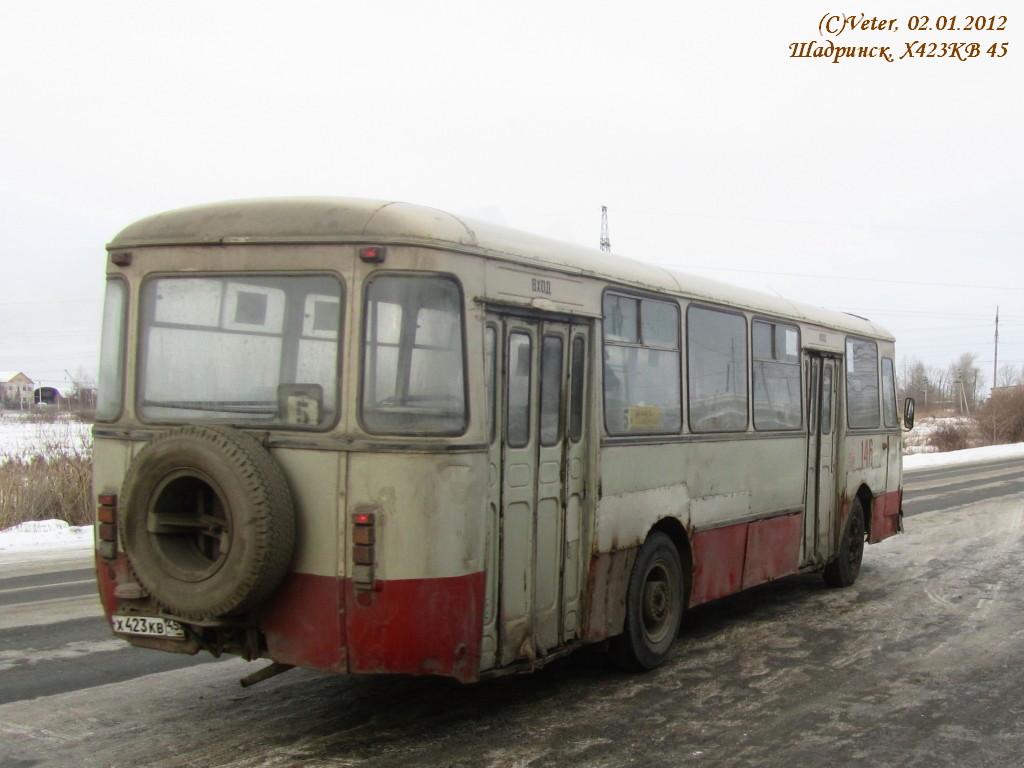 Шадринск. ЛиАЗ-677М х423кв