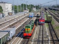 Батайск. ЭП1М-501, ВЛ80с-940, ЧМЭ3-4575