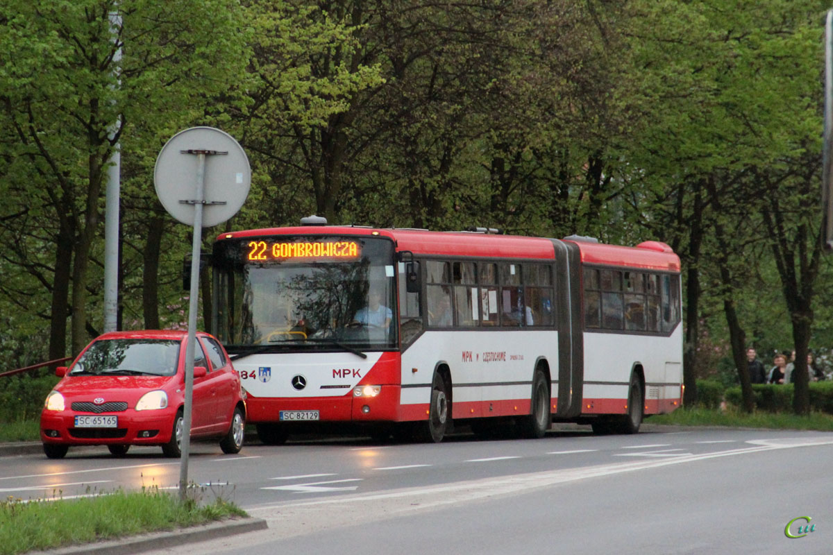 Ченстохова. Mercedes O345 Conecto G SC 82129