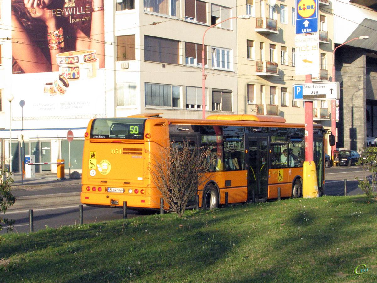 Братислава. Irisbus Citelis 12M BL-429BF