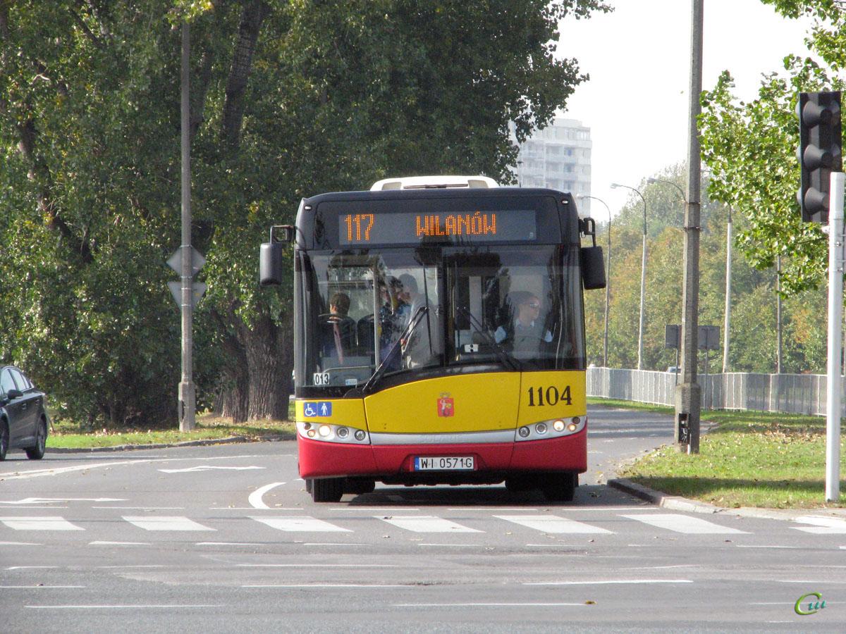 Варшава. Solaris Urbino 12 WI 0571G
