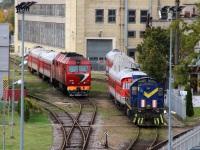 Вильнюс. ТЭП70БС-117, ТЭМ2-996