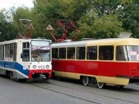 Москва. Tatra T3 (МТТД) №1312, 71-608К (КТМ-8) №4159