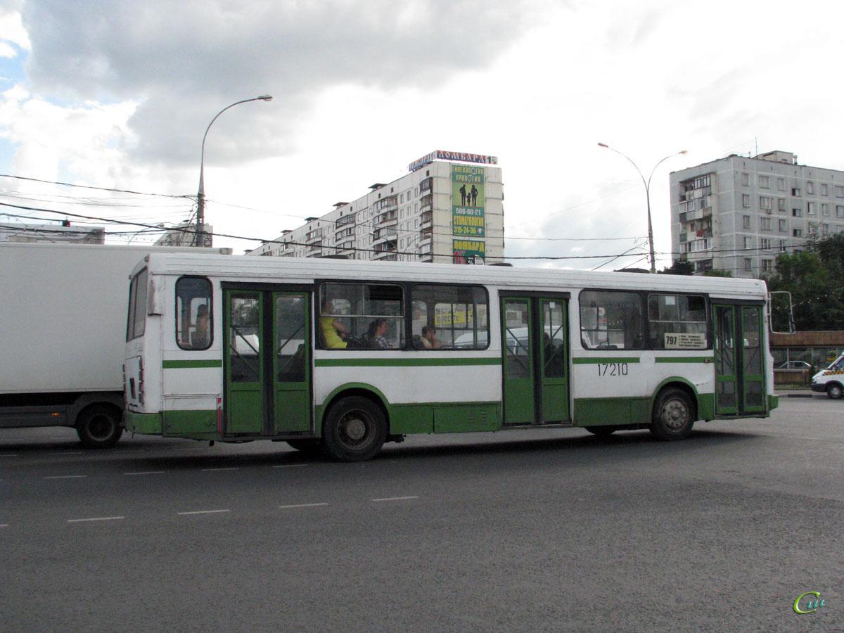 Москва. ЛиАЗ-5256.25 ас947
