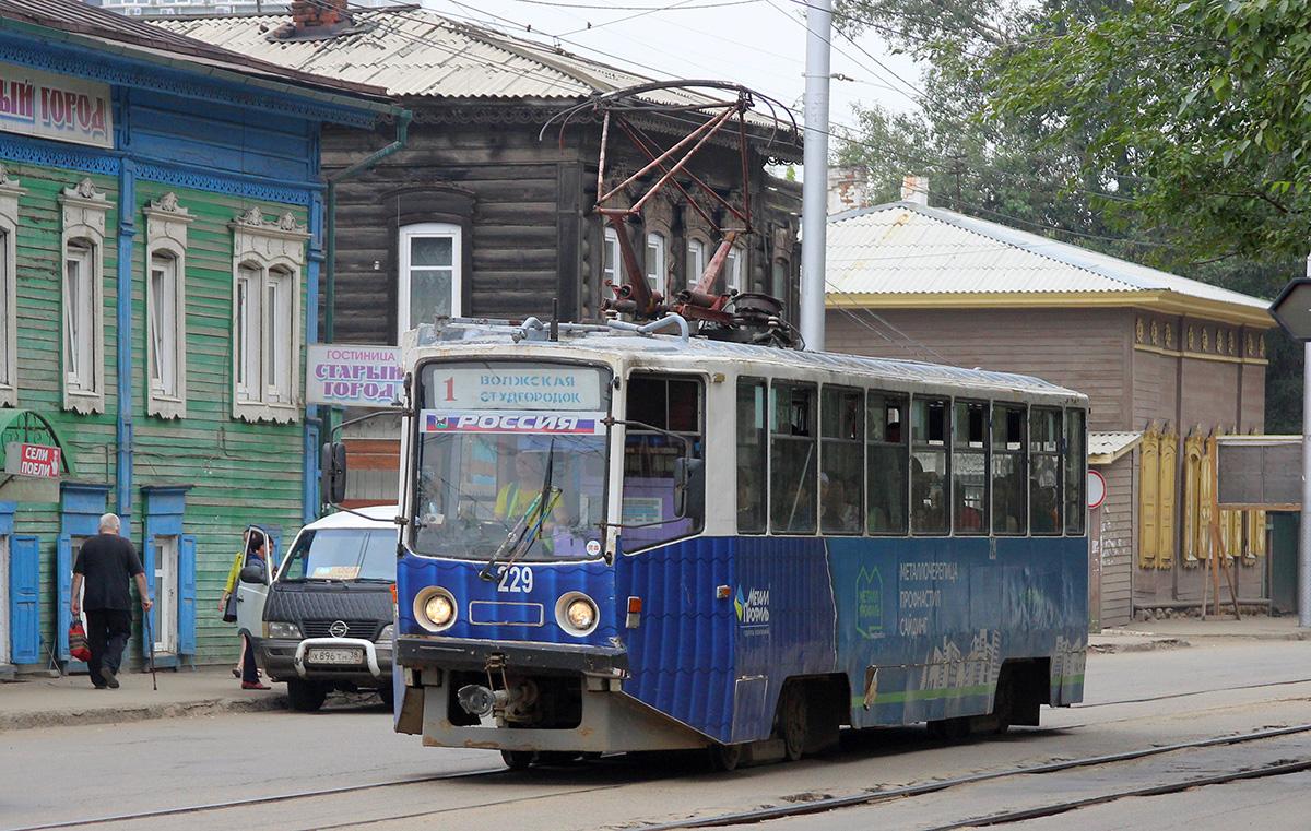Иркутск. 71-608КМ (КТМ-8М) №229