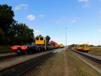 Калуга. Выставка железнодорожной техники, станция Перспективная