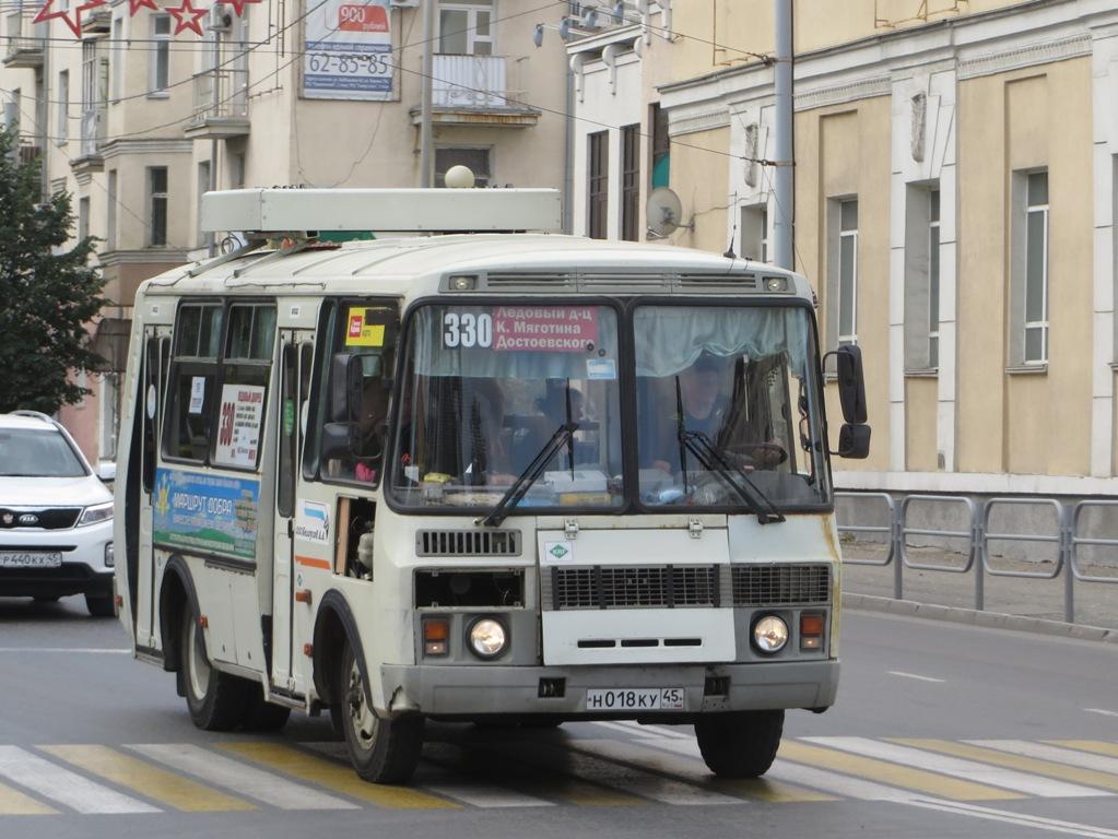 Курган. ПАЗ-32054 н018ку