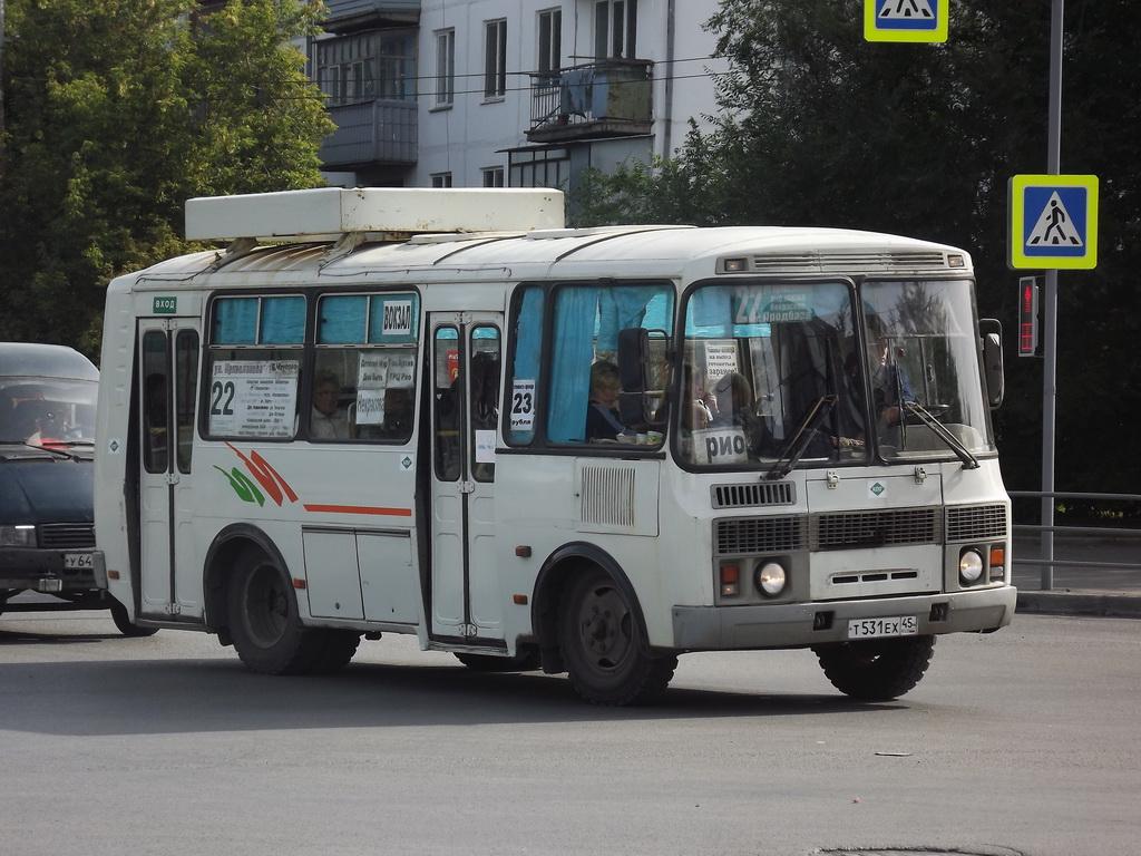 Курган. ПАЗ-32054 т531ех
