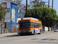 Лос-Анджелес. NABI 40-LFW №7369