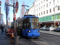 Мюнхен. Adtranz R2.2 №2166
