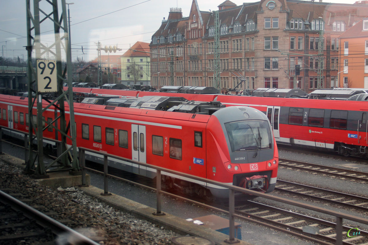 Нюрнберг. Alstom Coradia Continental-440 319