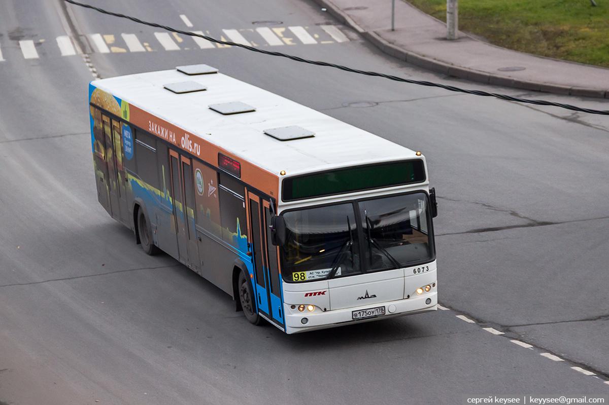 Санкт-Петербург. МАЗ-103.485 в175оу