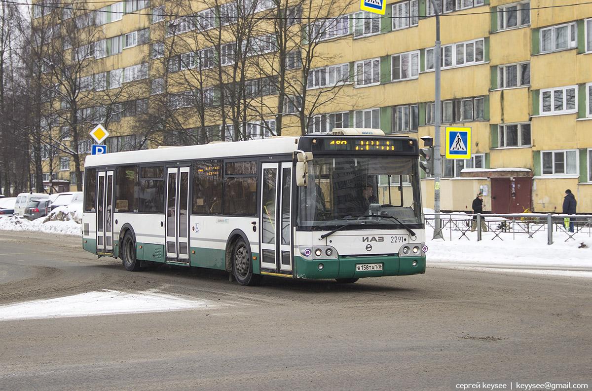 Санкт-Петербург. ЛиАЗ-5292.60 в158та