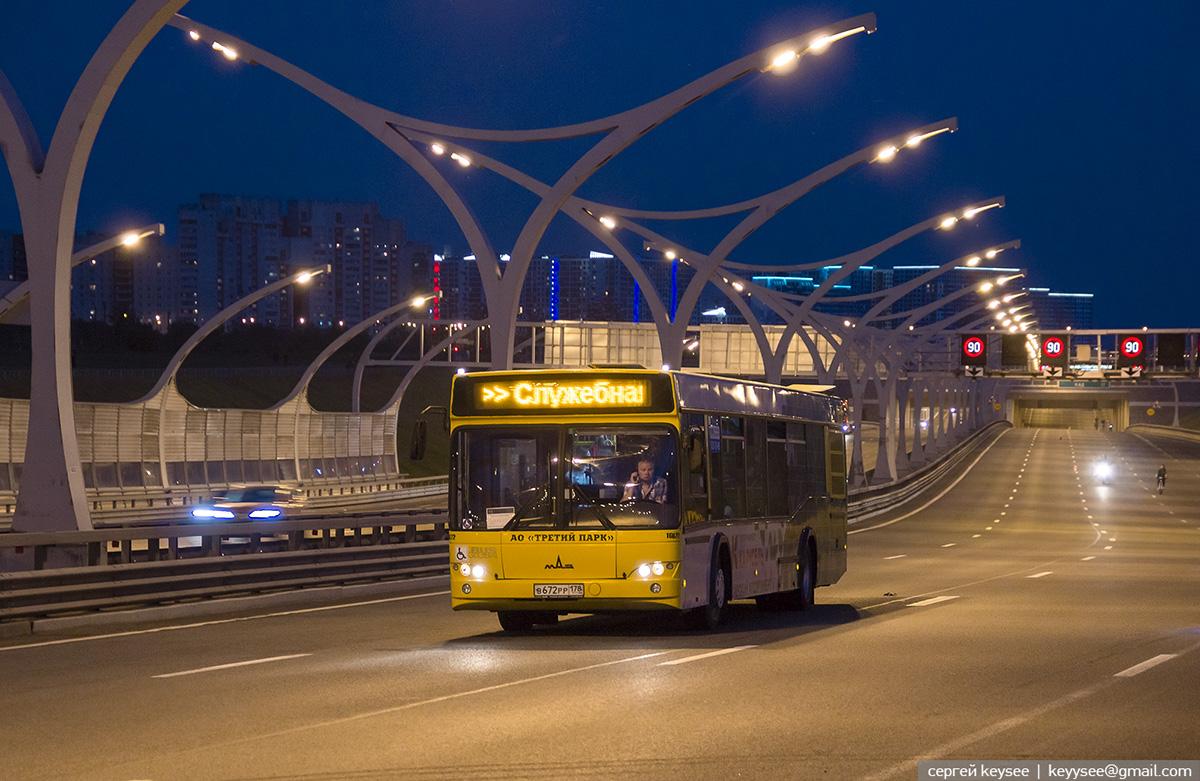 Санкт-Петербург. МАЗ-103.485 в672рр