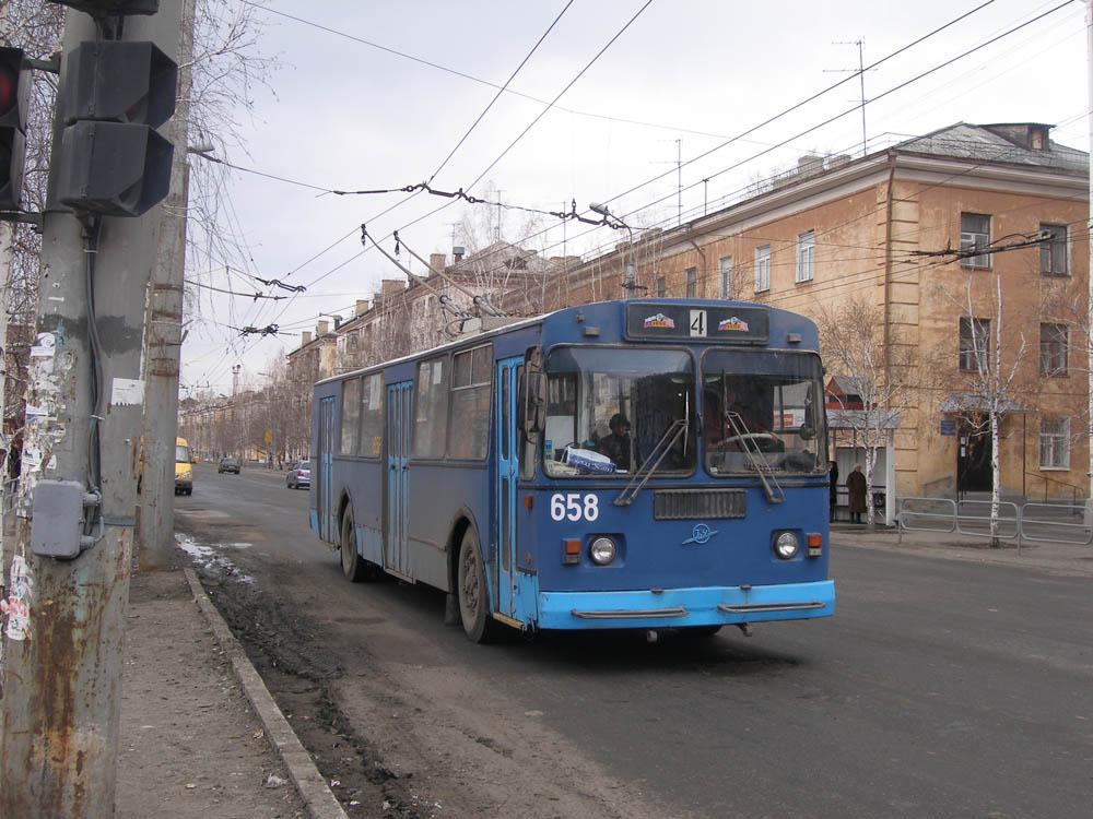Курган. ЗиУ-682Г-012 (ЗиУ-682Г0А) №658