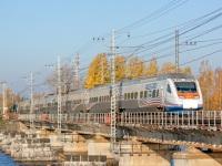 Выборг. Скоростной пассажирский двухсистемный электропоезд Sm6 Allegro