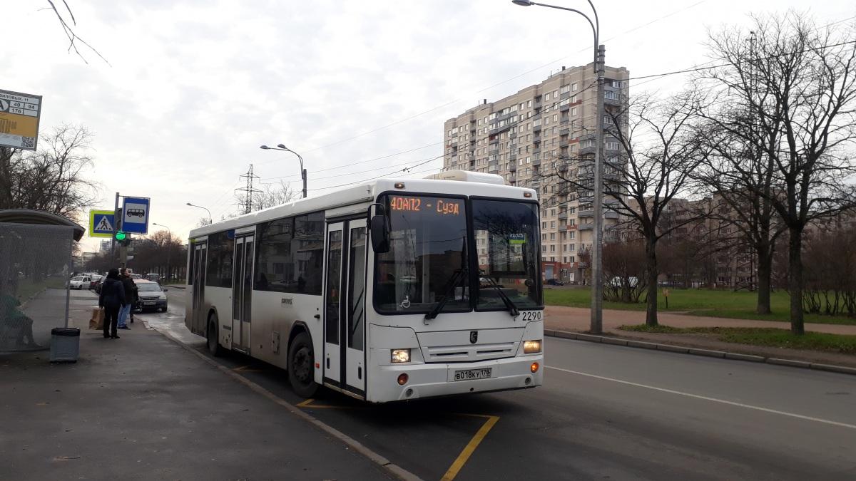 Санкт-Петербург. НефАЗ-52994-40-42 в018ку